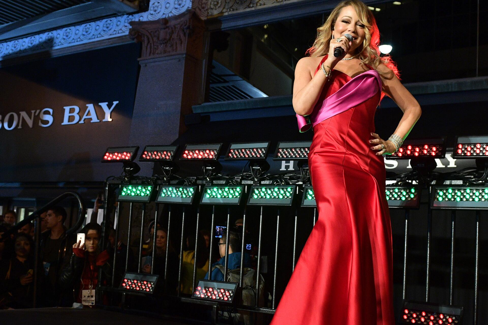Bild zu Mariah Carey, The Hudson's Bay, Weihnachten
