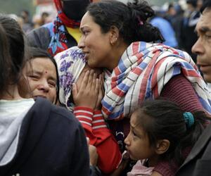 Angehörigen trauern