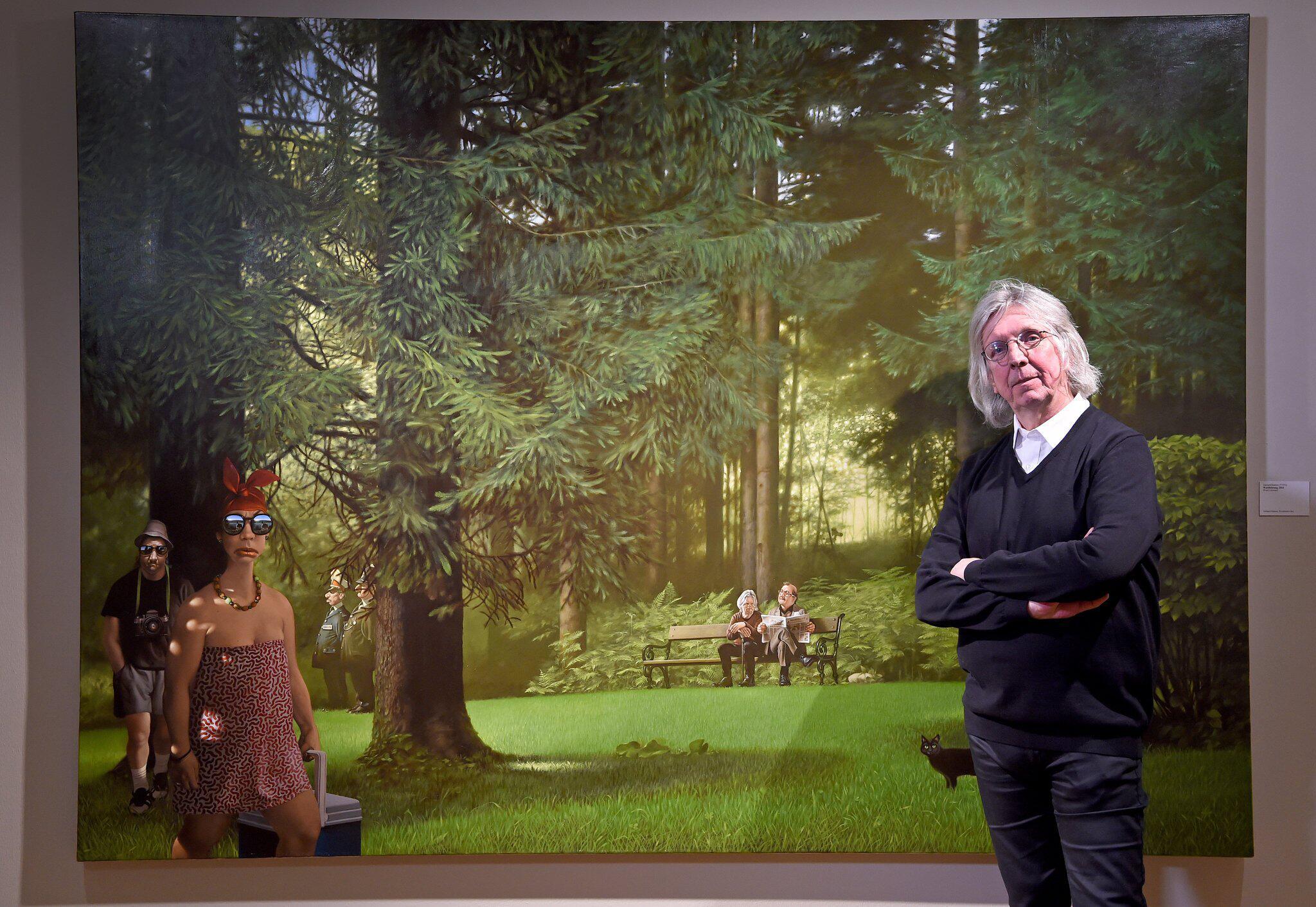 """Bild zu Ausstellung """"Gerhard Haderer. Think Big!"""""""