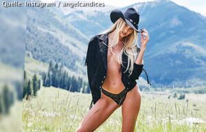 Candice Swanepoels sexy Cowgirl-Show auf Instagram