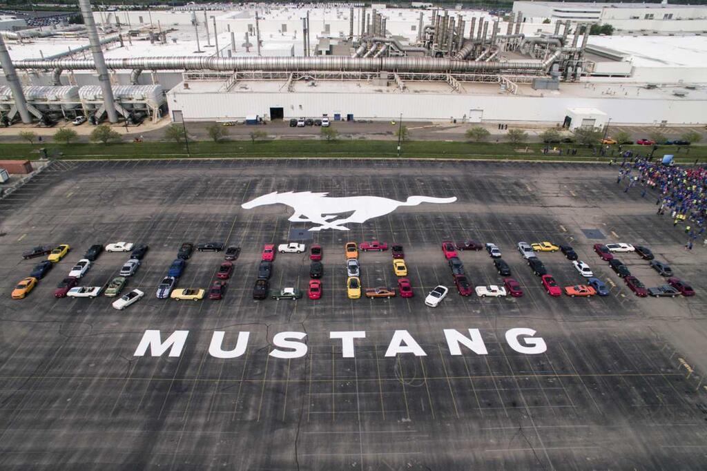 Zehn Millionen Ford Mustang