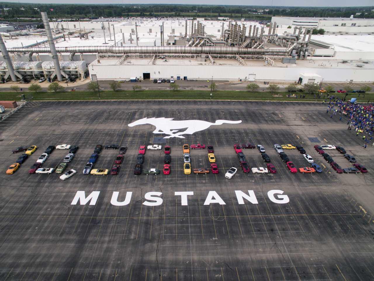 Bild zu Zehn Millionen Ford Mustang