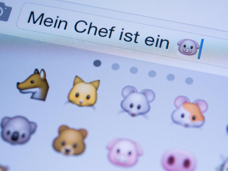 Bild zu Tier-Emoticons