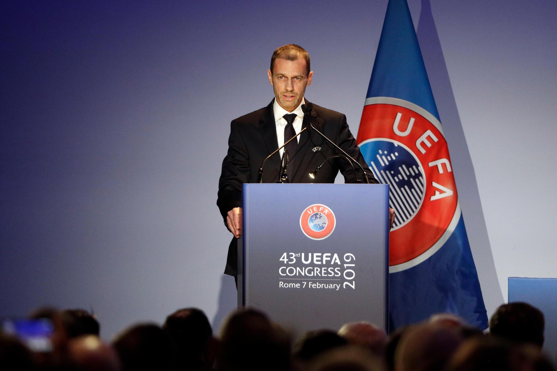 Bild zu Ceferin, UEFA