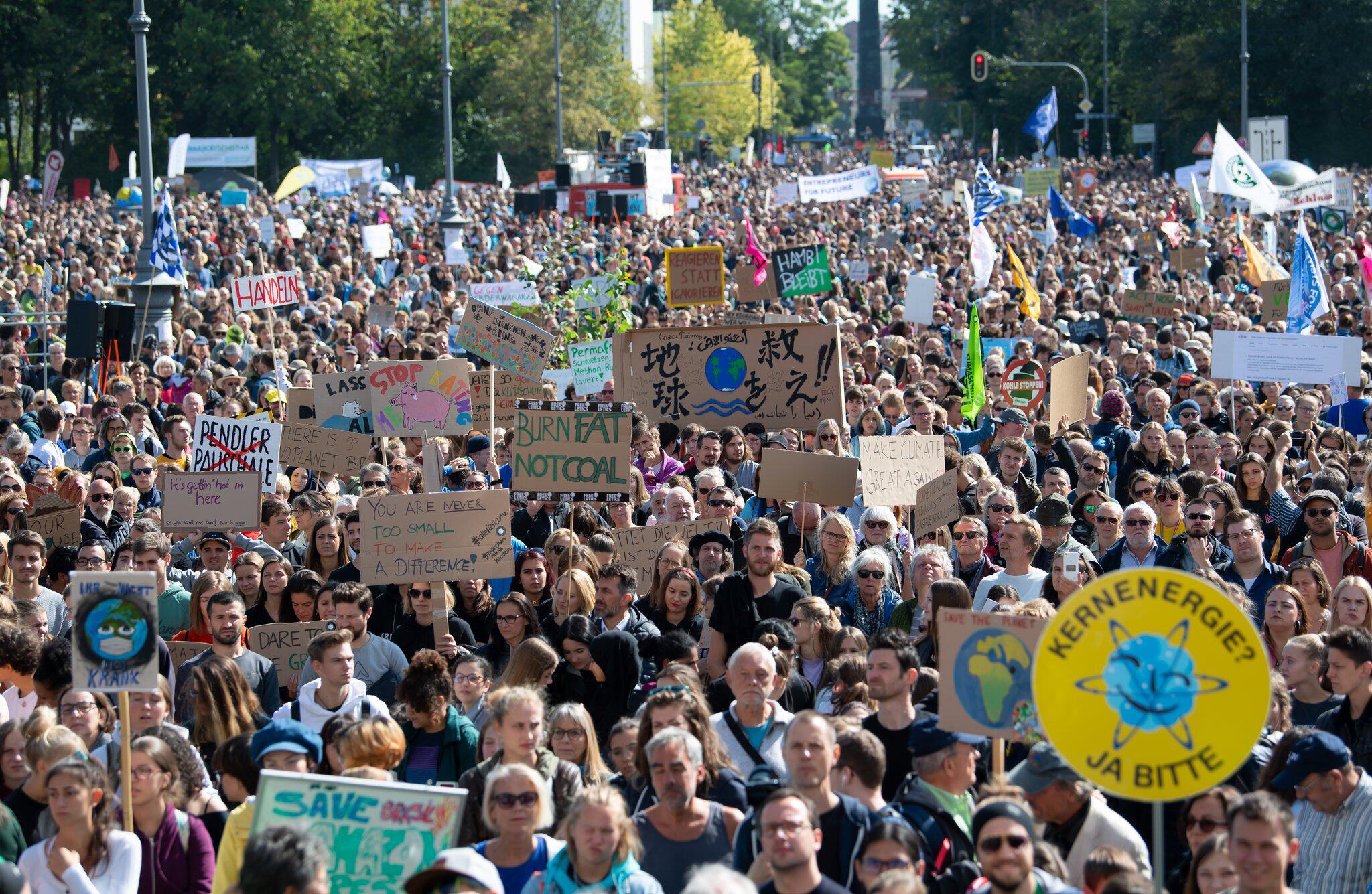 Bild zu Globaler Klimastreik – München