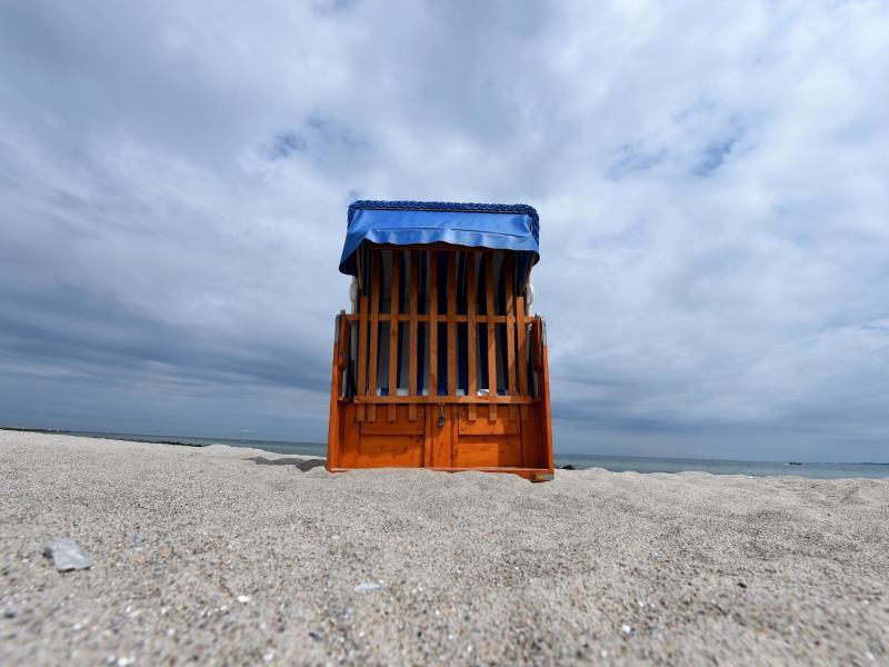 Bild zu Verschlossener Strandkorb