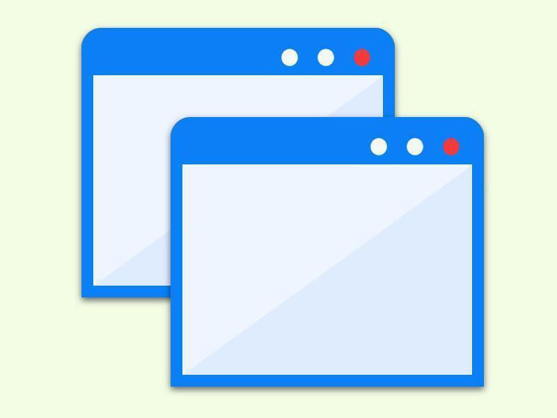 Bild zu Zwei Instanzen eines Programmes