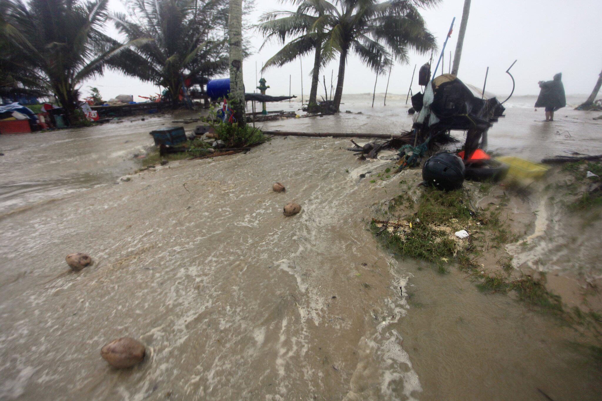 """Bild zu Tropensturm """"Pabuk"""" in Thailand"""