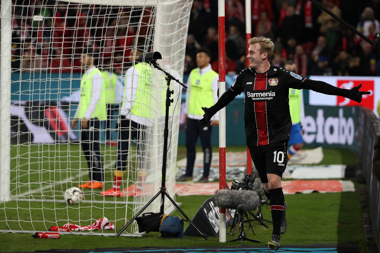 Bild zu Fußball, Bundesliga, Mainz, Leverkusen