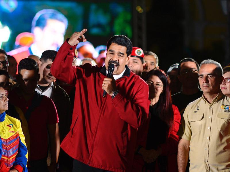 Bild zu Nicolás Maduro