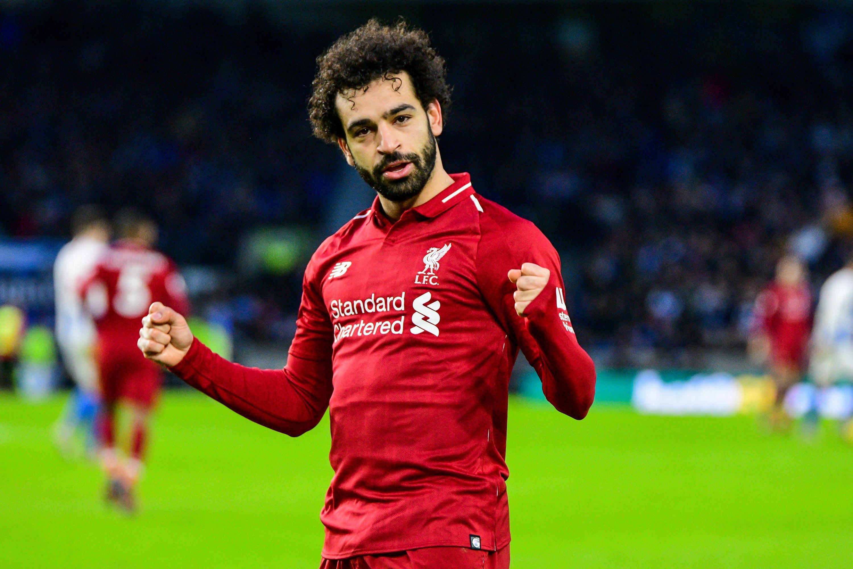 Bild zu Fußball, England, Premier League, Liverpool, Salah