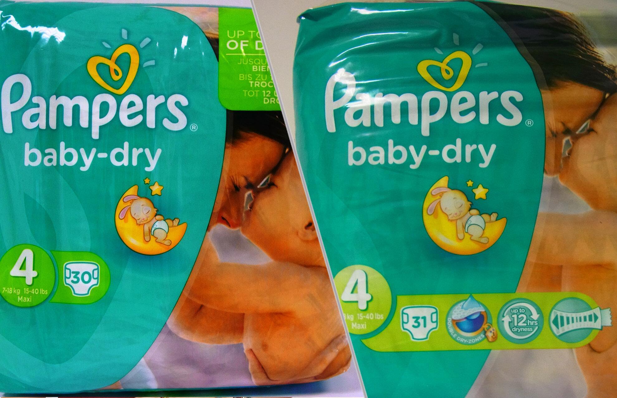 Bild zu Pampers baby-dry