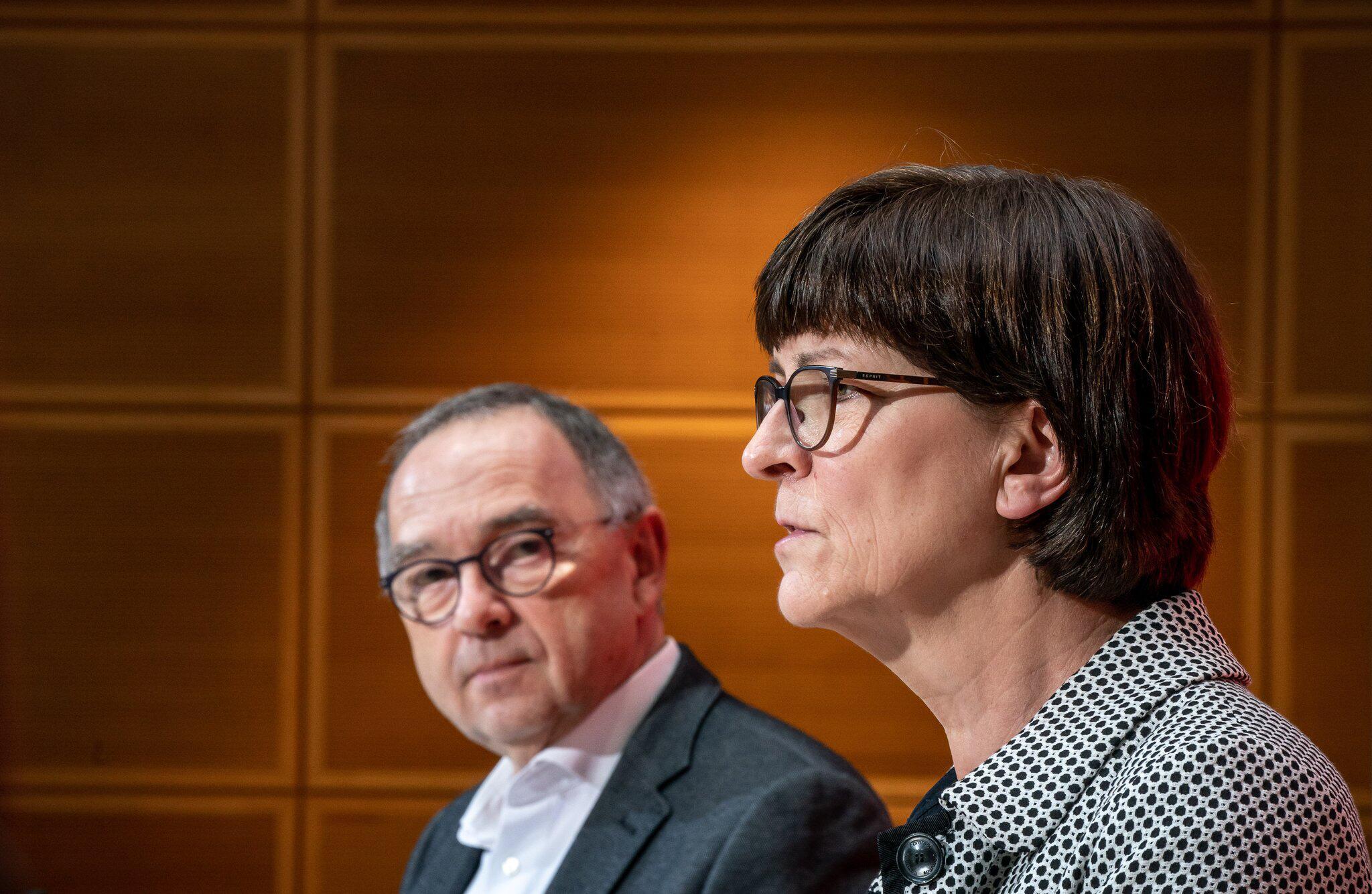 Bild zu SPD press conference