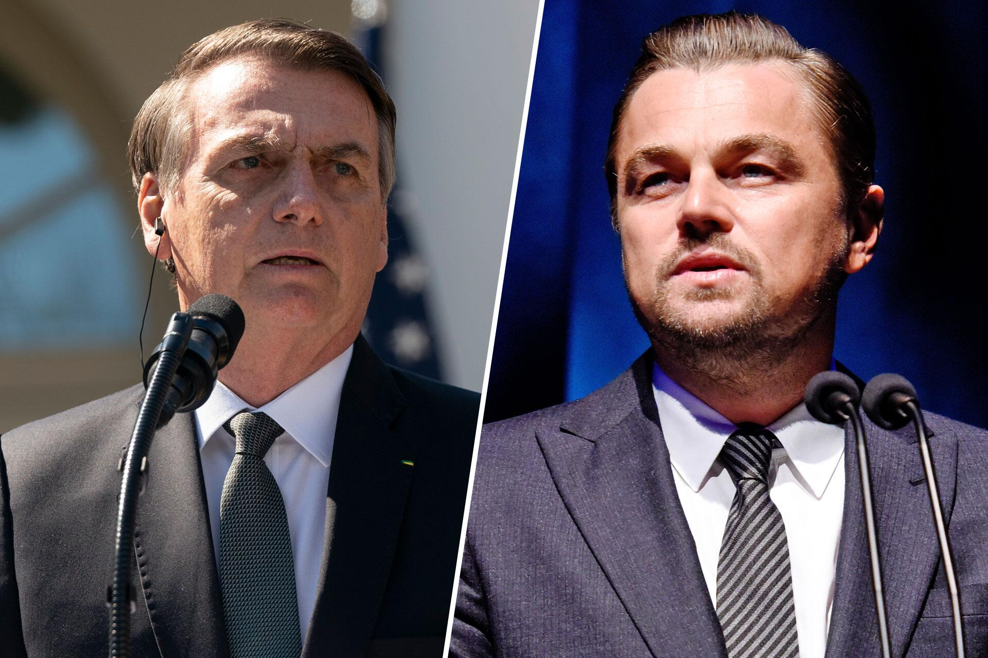Bild zu Jair Bolsonaro, Leonardo Di Caprio