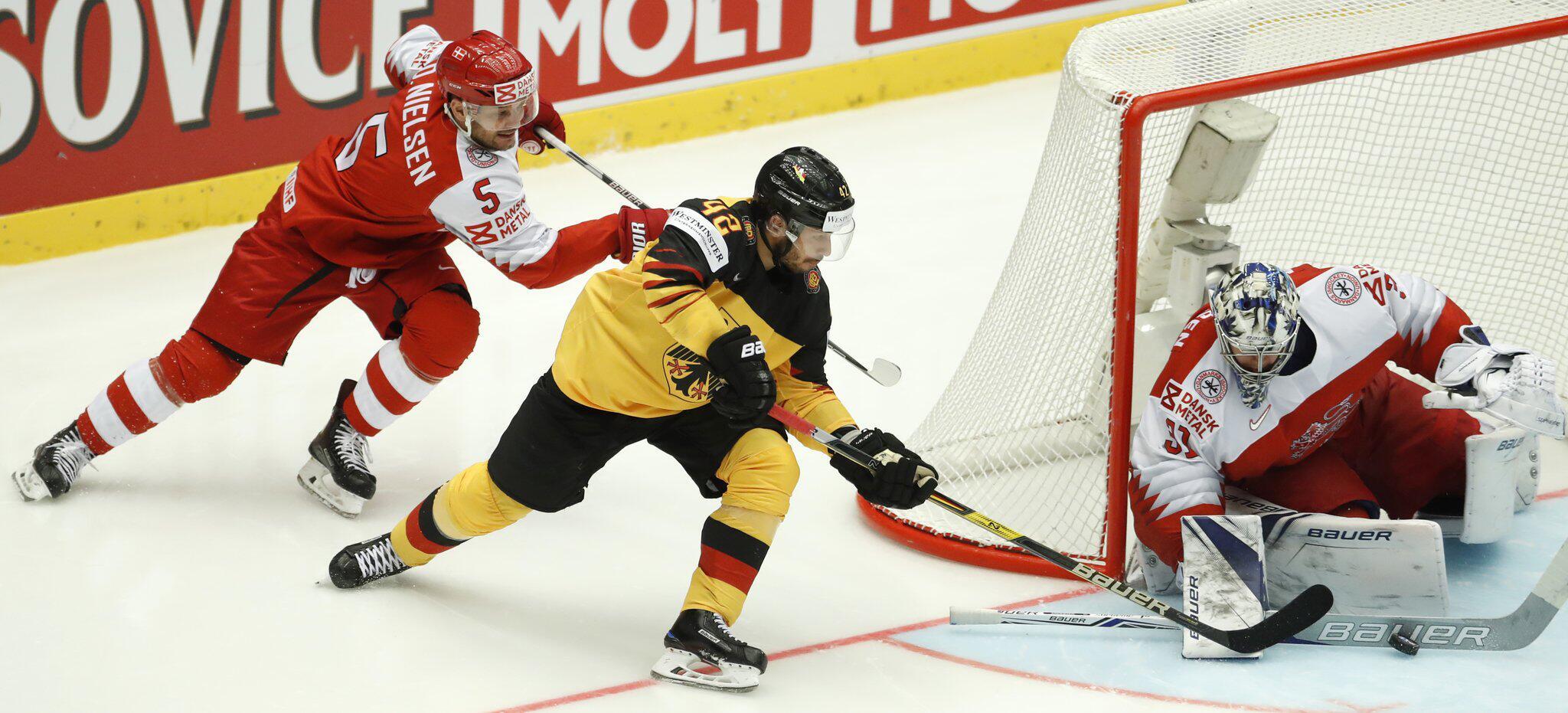 Bild zu Eishockey: WM, Deutschland - Dänemark