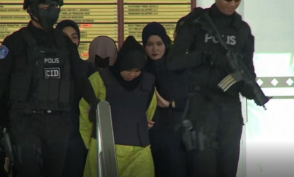 Bild zu Wegen Ermordung von Kim Jong Uns Halbbruder angeklagte Frau freigelassen.
