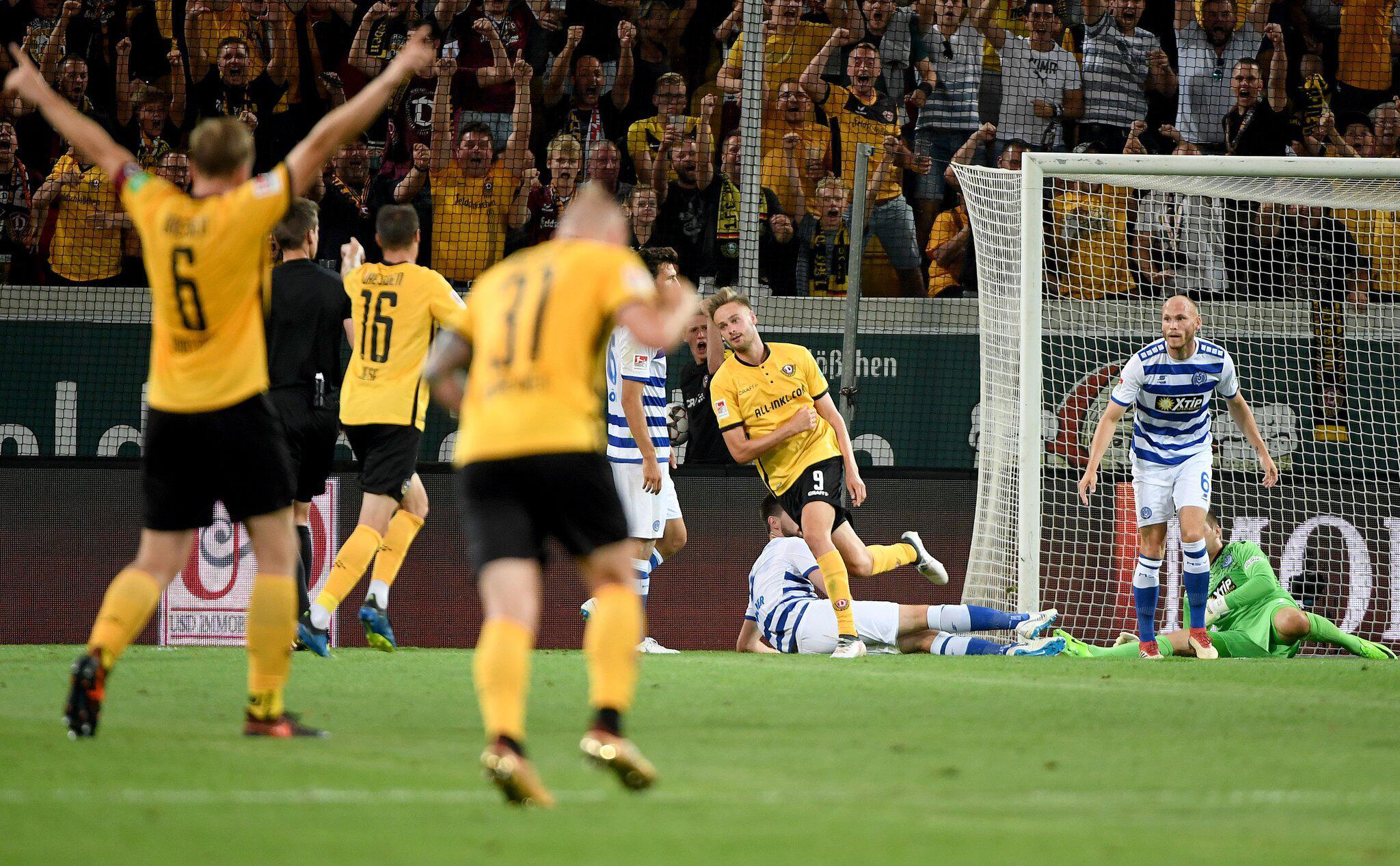 Bild zu Dynamo Dresden vs MSV Duisburg
