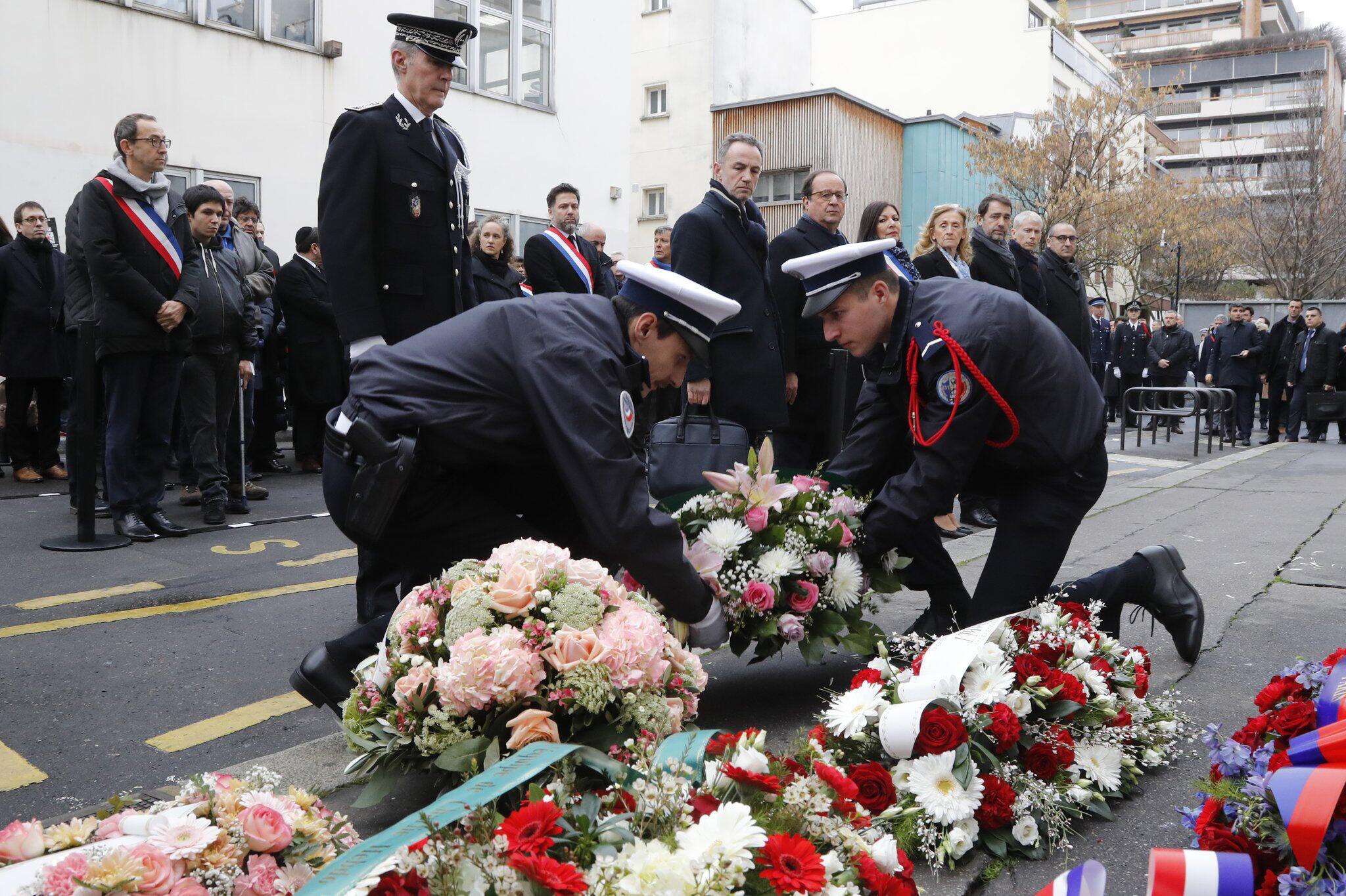 Bild zu 5. Jahrestag des Terroranschlags auf «Charlie Hebdo»