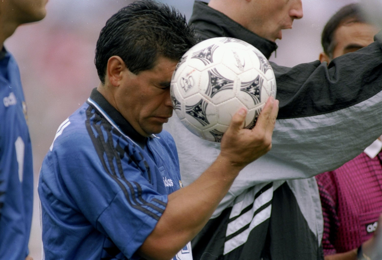 Bild zu Diego Maradona, Argentinien, WM 1994, USA, Griechenland