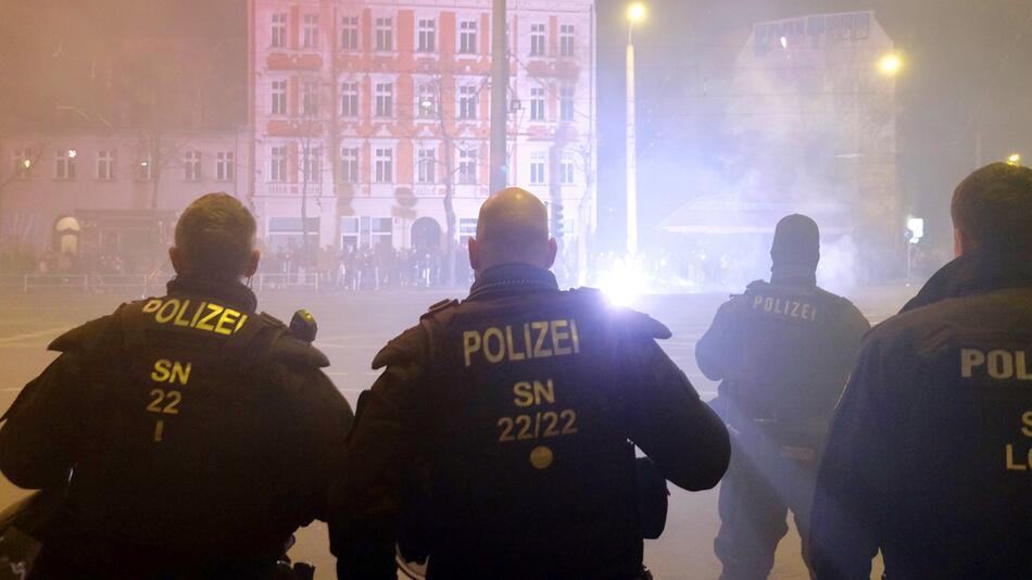 Neujahr - Leipzig