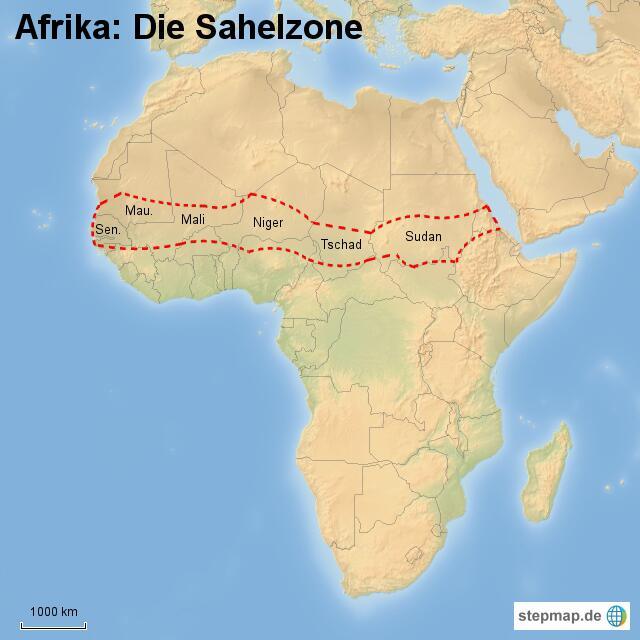 Bild zu Sahelzone