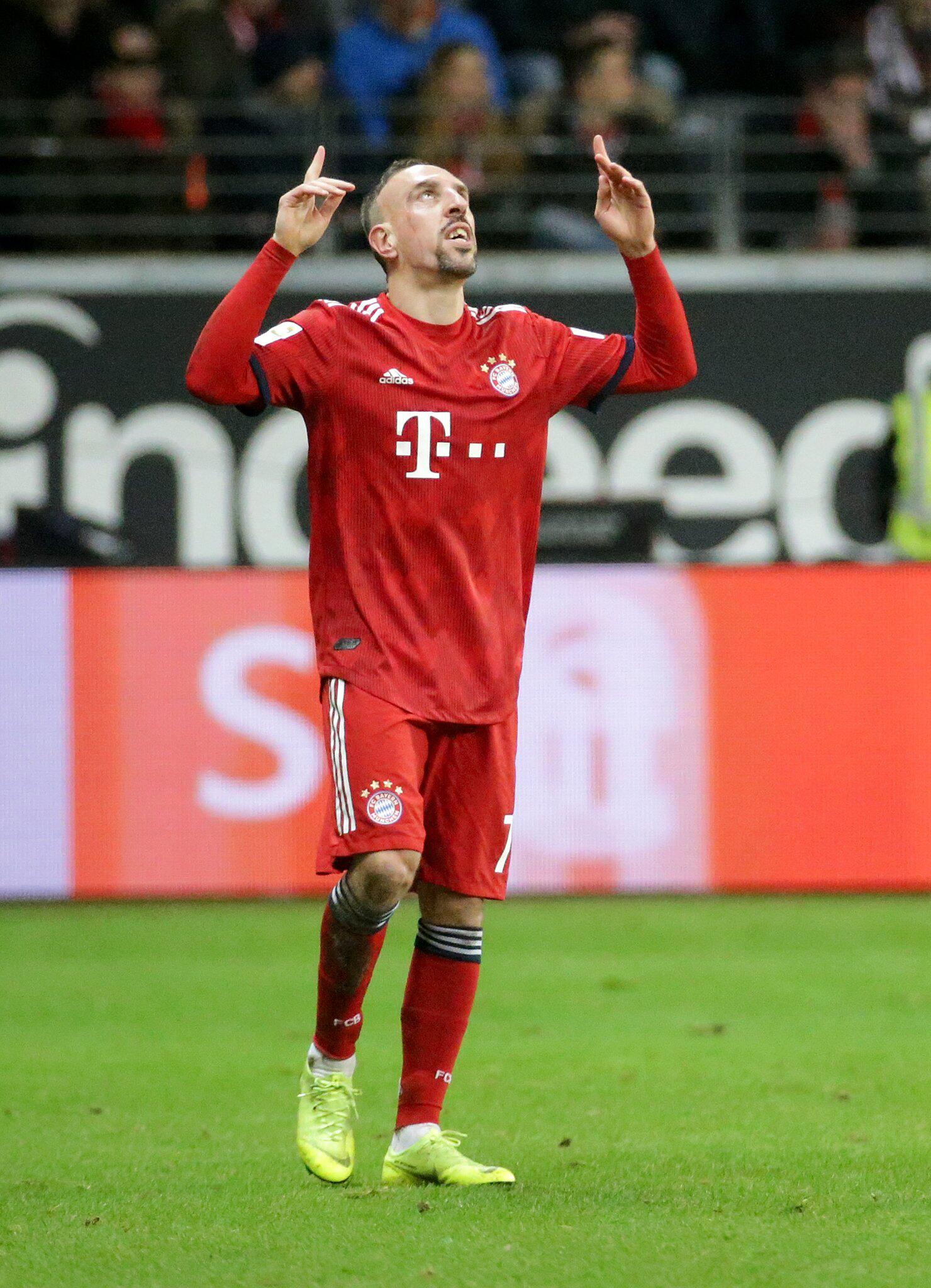 Bild zu Eintracht Frankfurt - FC Bayern Munich