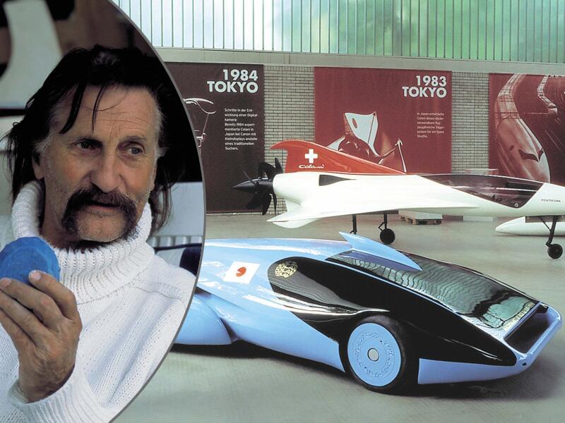 Bild zu Luigi Colani feiert 85. Geburtstag