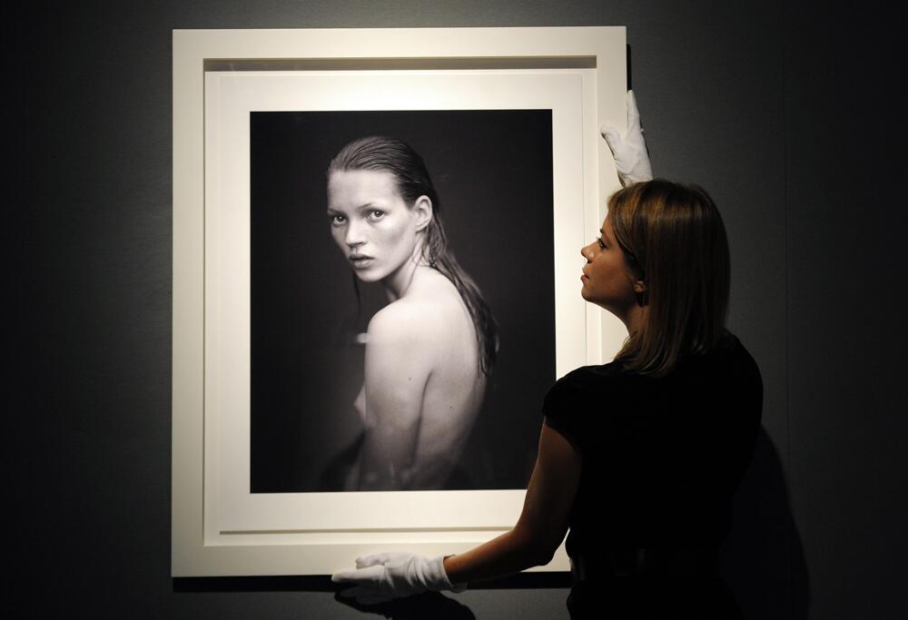 Bild zu Kate Moss Fotografie von Mario Sorrenti