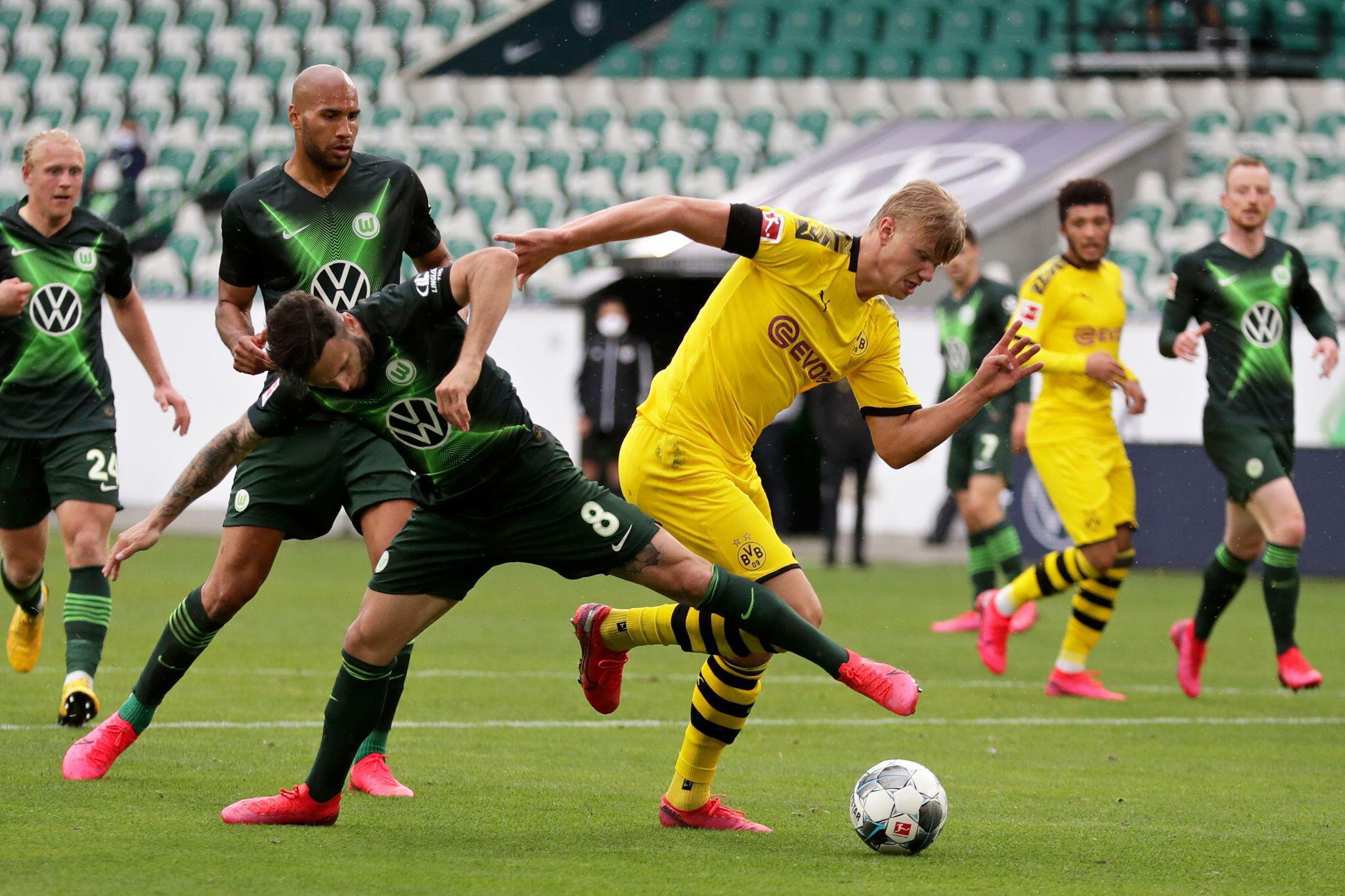 Bild zu VfL Wolfsburg - Borussia Dortmund