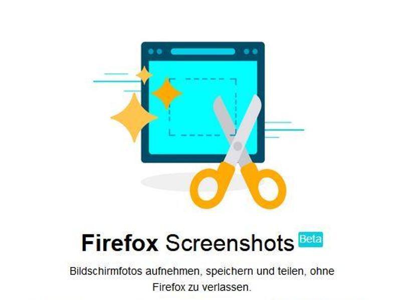 Bild zu Firefox-Screenshot