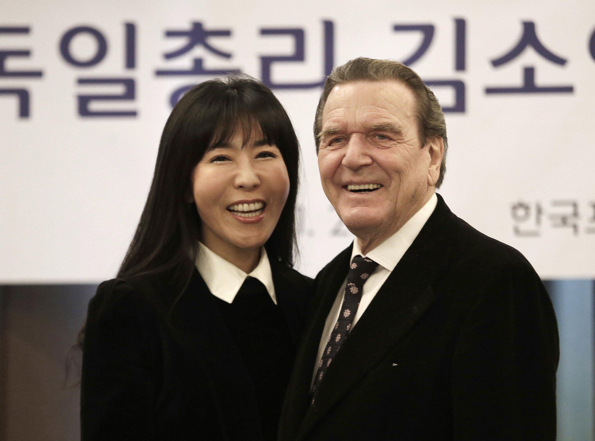 Bild zu Gerhard Schröder und Soyeon Kim