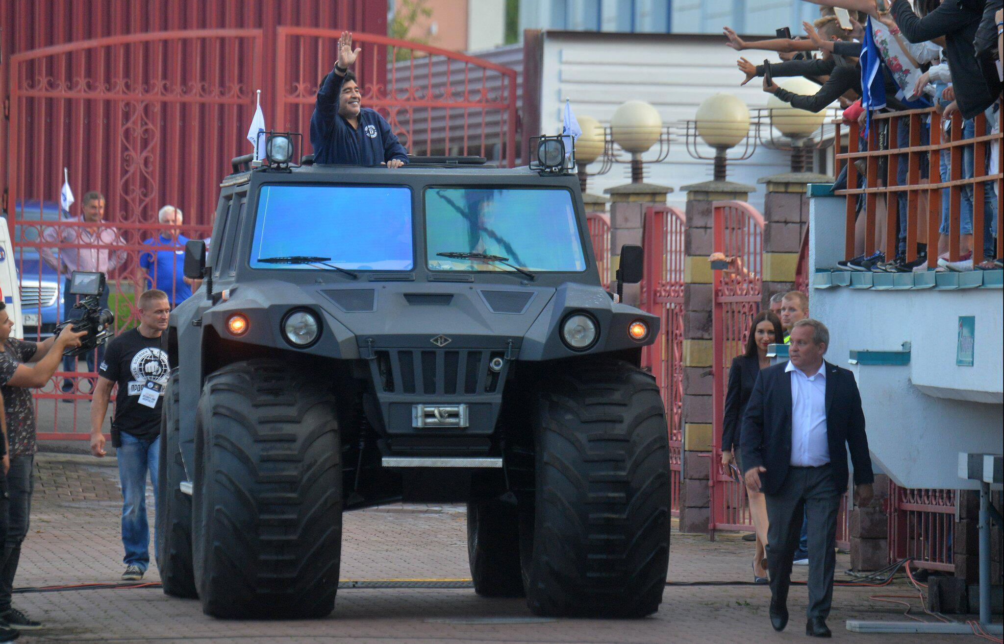 Bild zu Diego Maradona in Brest