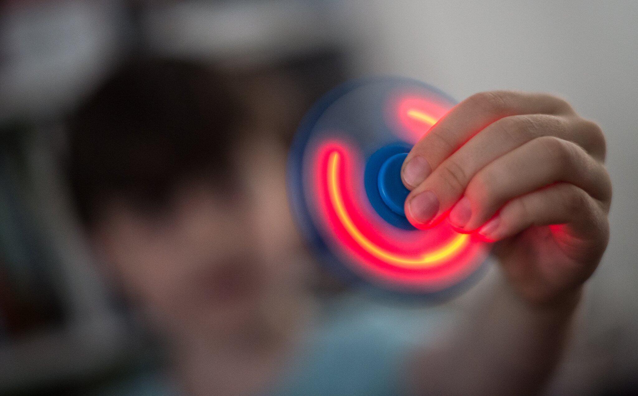 Bild zu Spinning toy Fidget Spinner