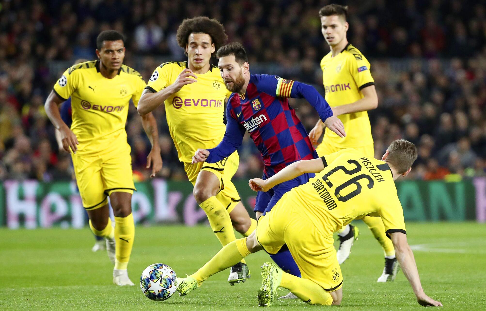 Bild zu FC Barcelona, Borussia Dortmund