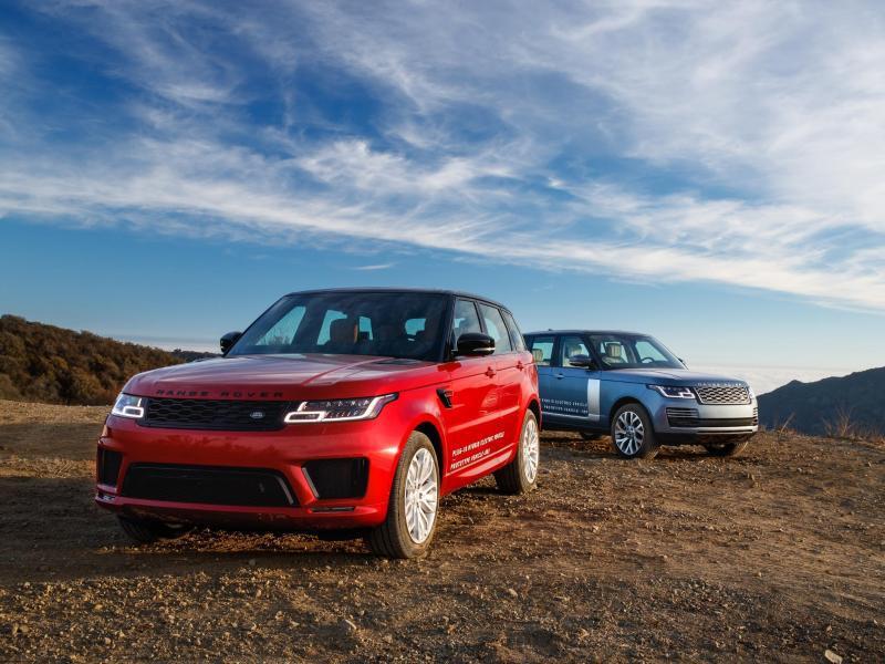 Bild zu Range Rover und Range Rover Sport