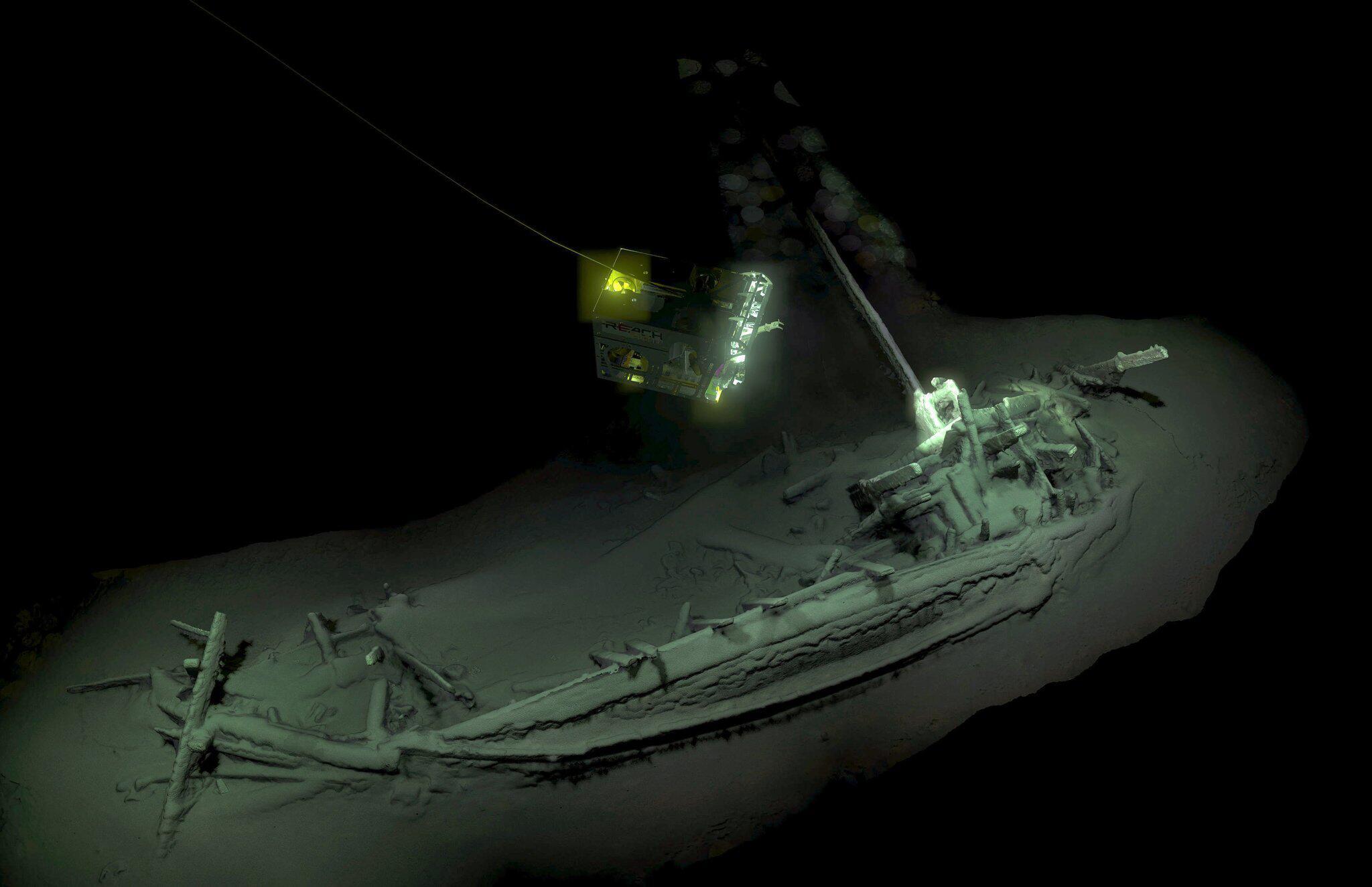 Bild zu Ältestes Schiffswrack der Welt entdeckt