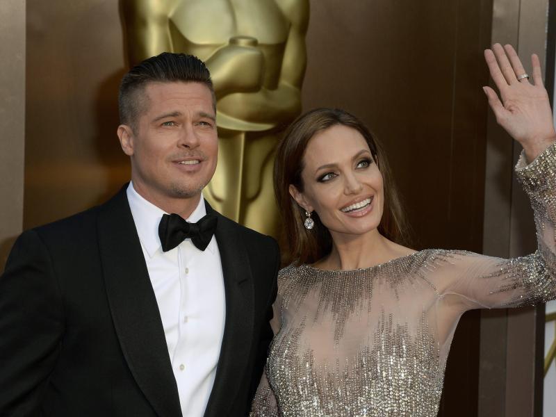 Bild zu Pitt und Jolie