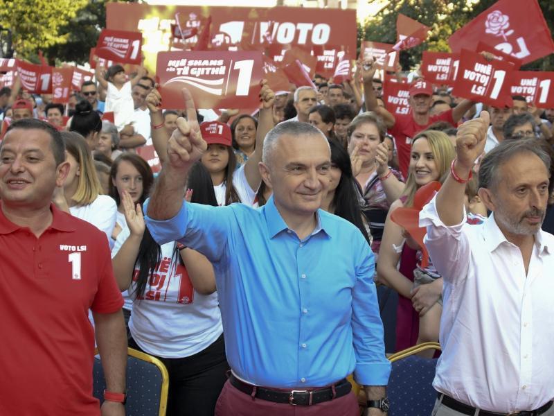 Bild zu Staatspräsident Ilir Meta