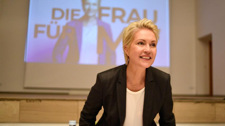 Pressestatement der SPD-Landesvorsitzenden Schwesig