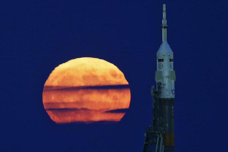 Mond-Rakete