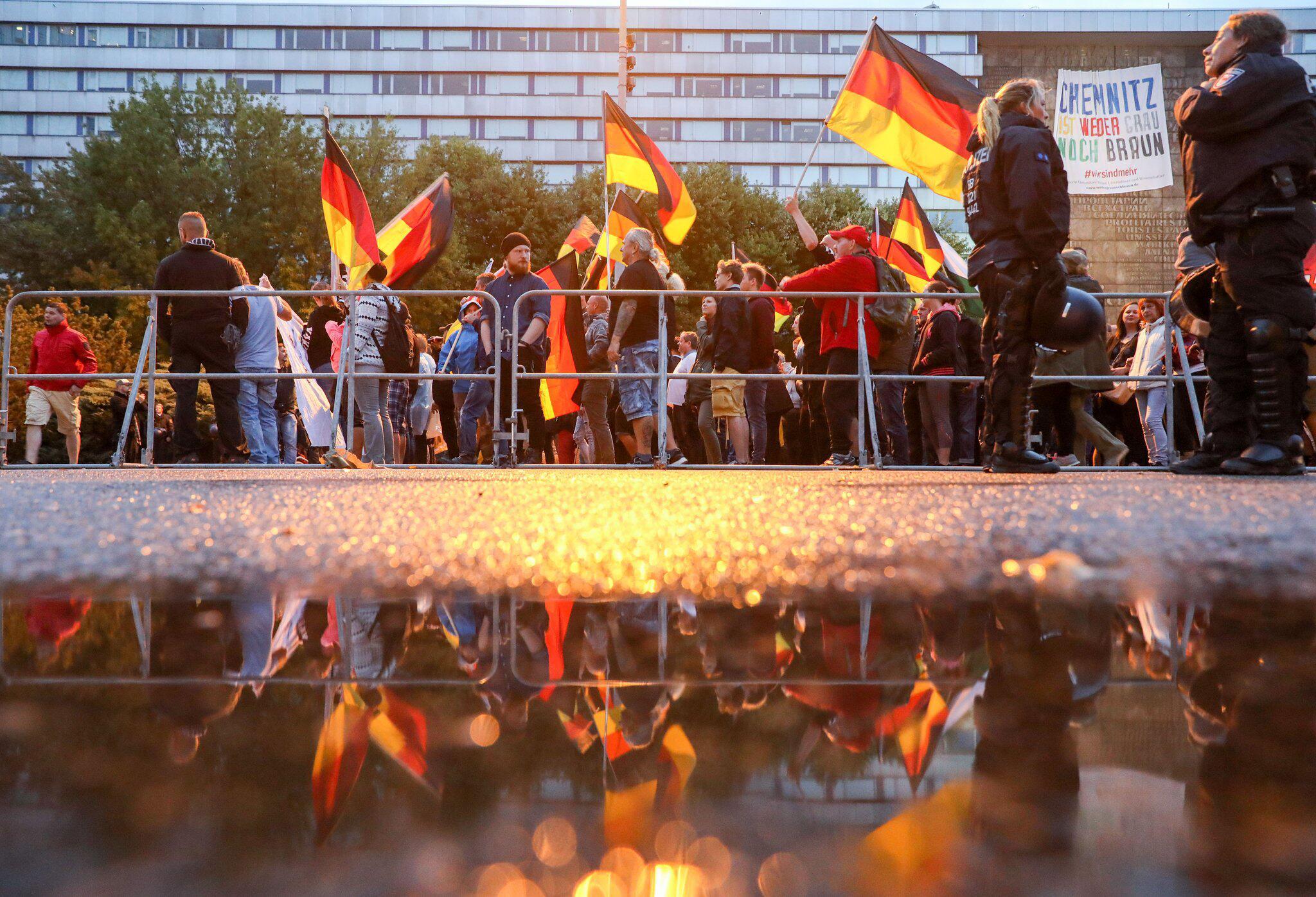 Bild zu Demonstration Pro Chemnitz