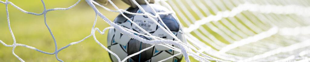 Fußball, Tor, Torwart, Ball, Netz