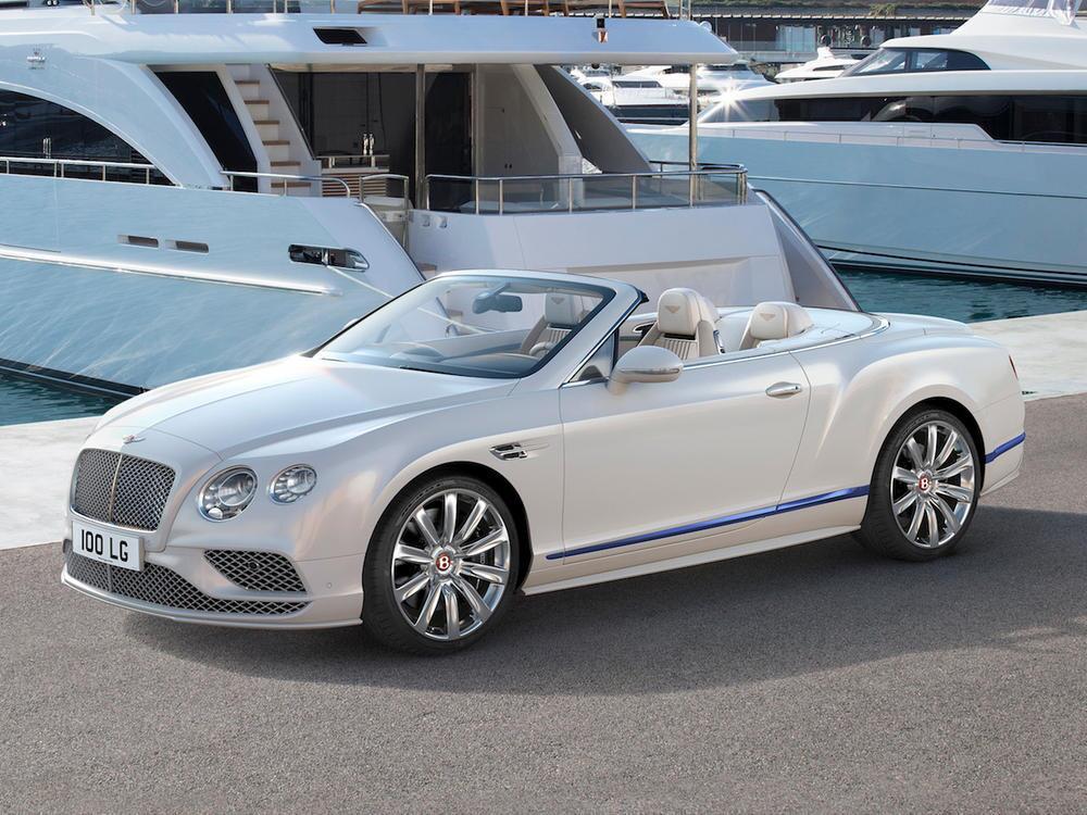 Bild zu Bentley Continental GT Convertible Galene Edition