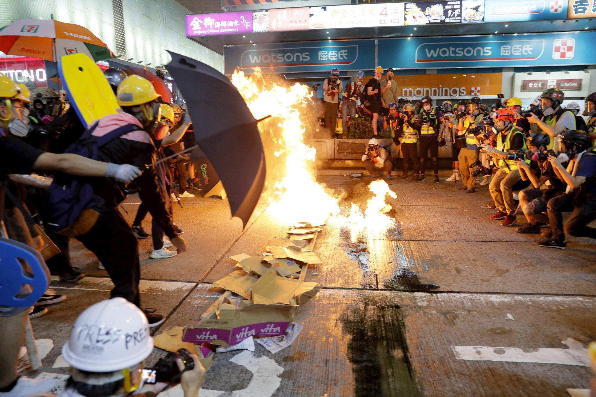 Bild zu Demonstrationen in Hongkong