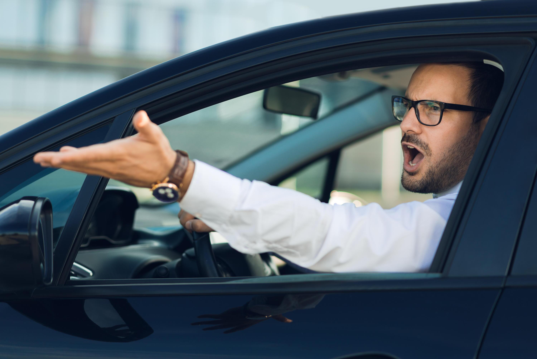 Bild zu aggressivität, auto, verkehr