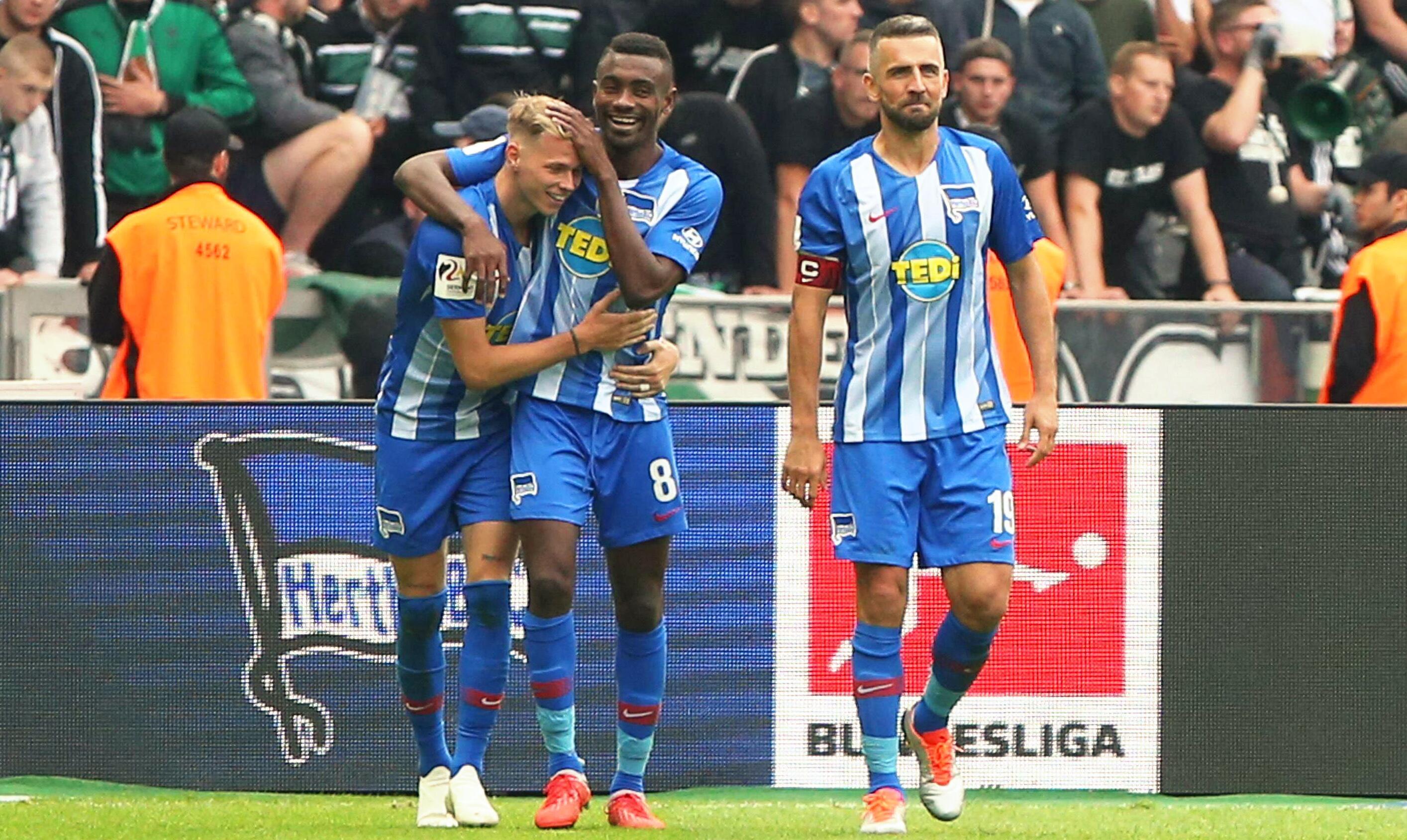 Bild zu Fußball, Bundesliga, Hertha BSC, Duda, Kalou, Ibisevic