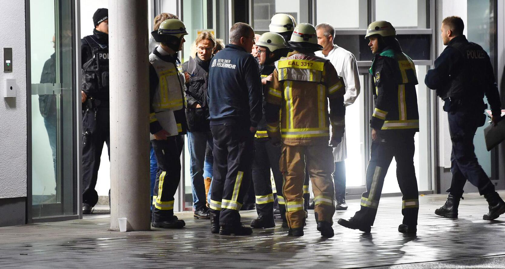 Bild zu A dead man after stabbing with a knife in a private clinic in Berlin