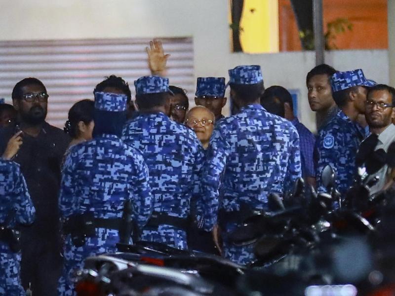 Bild zu Krise auf Malediven