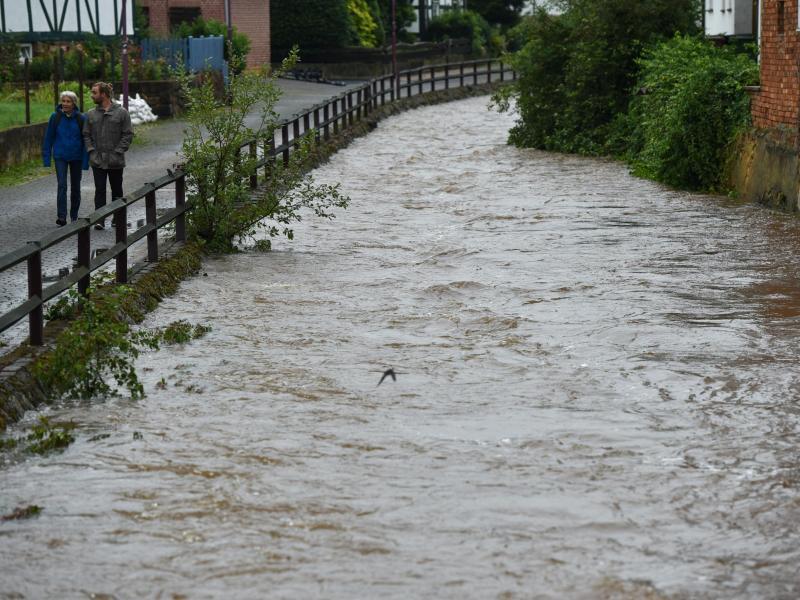 Bild zu Hochwasser in Nordhessen