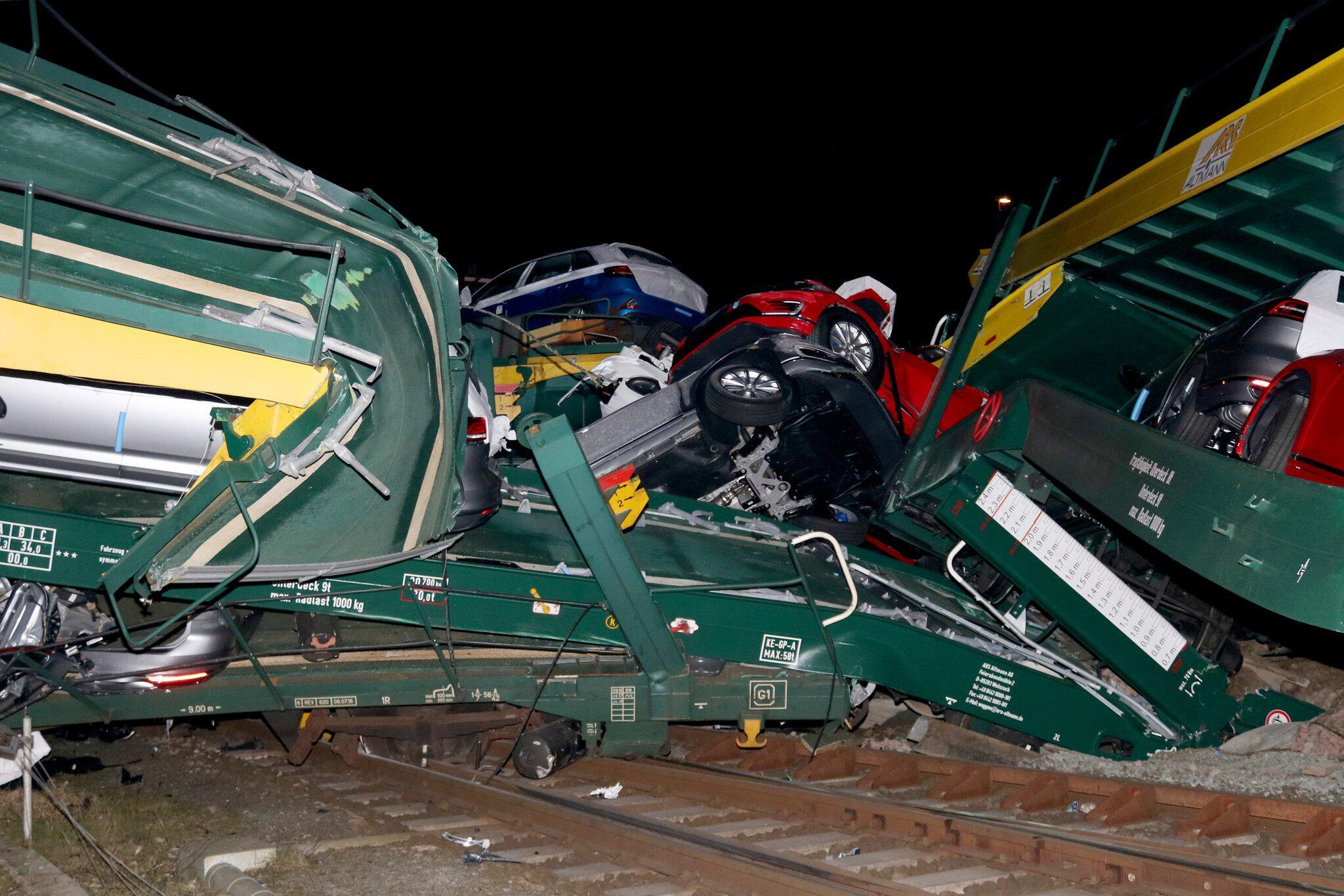 Bild zu Güterzüge entgleist